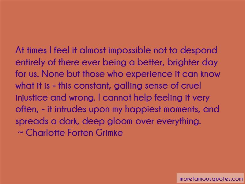 Charlotte Forten Grimke Quotes