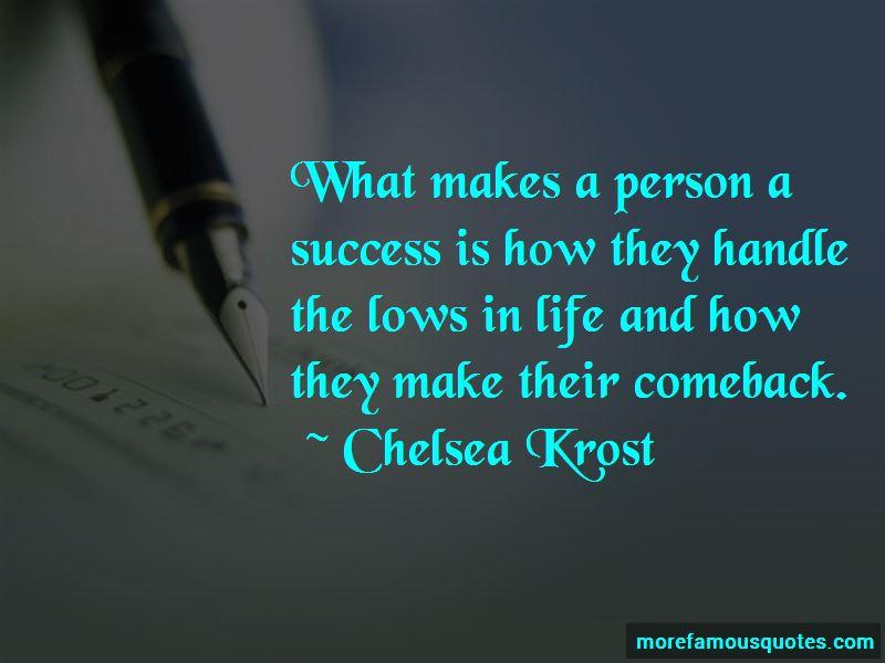 Chelsea Krost Quotes