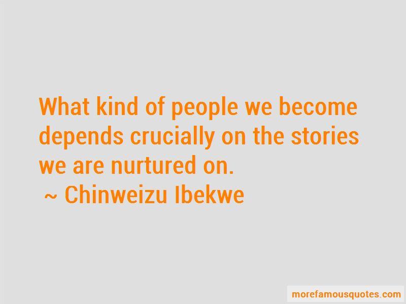 Chinweizu Ibekwe Quotes