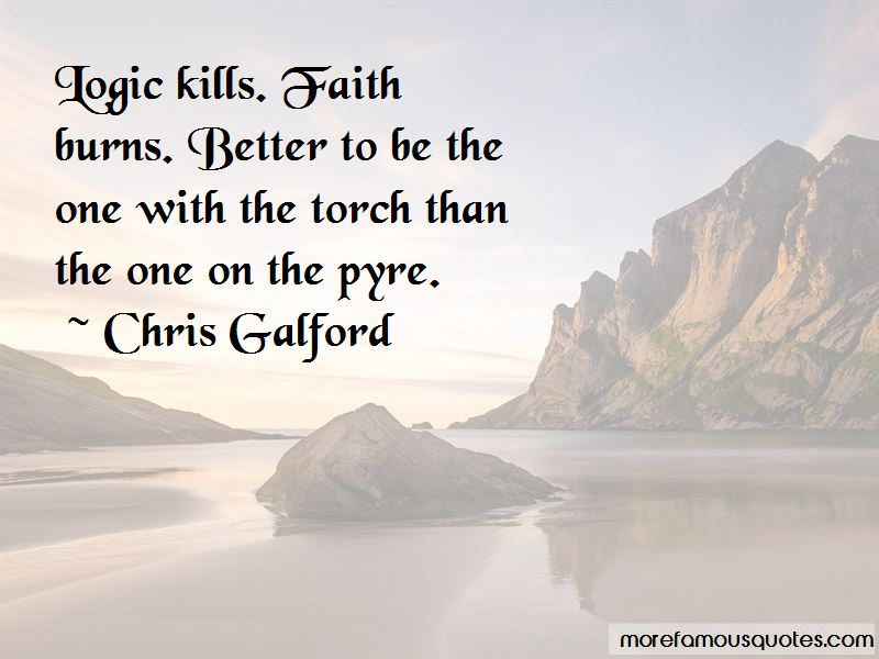 Chris Galford Quotes Pictures 4