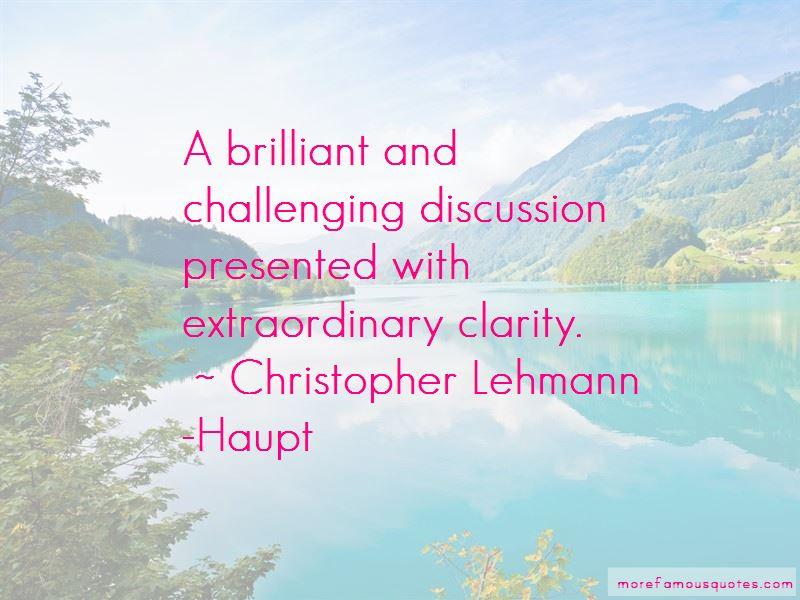 Christopher Lehmann-Haupt Quotes Pictures 3