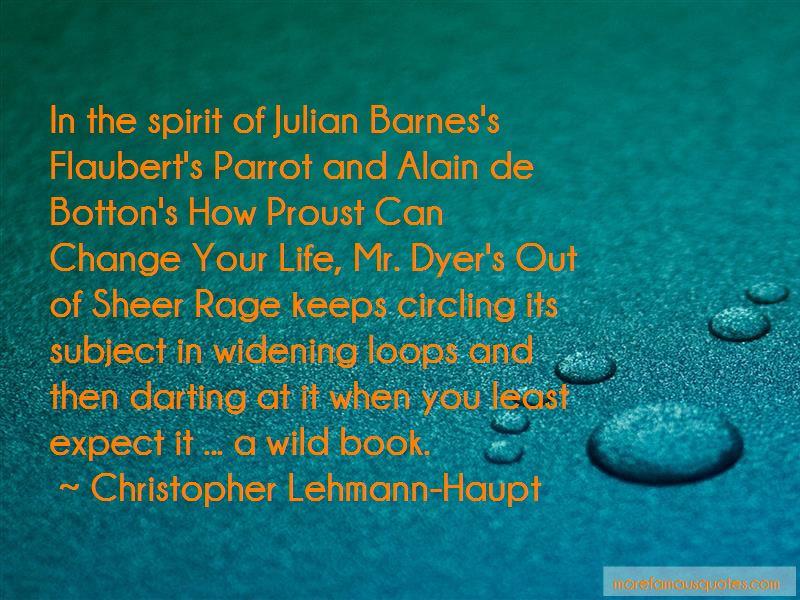 Christopher Lehmann-Haupt Quotes