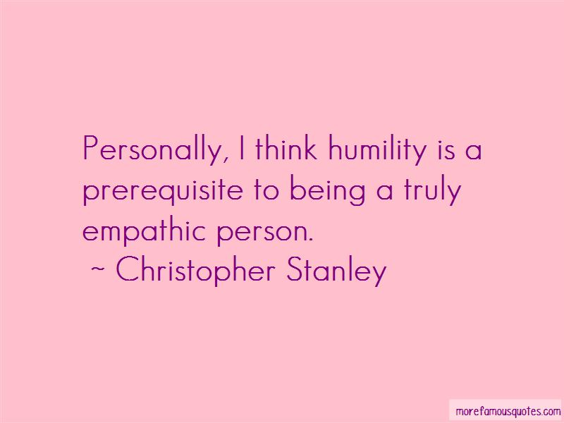 Christopher Stanley Quotes Pictures 3