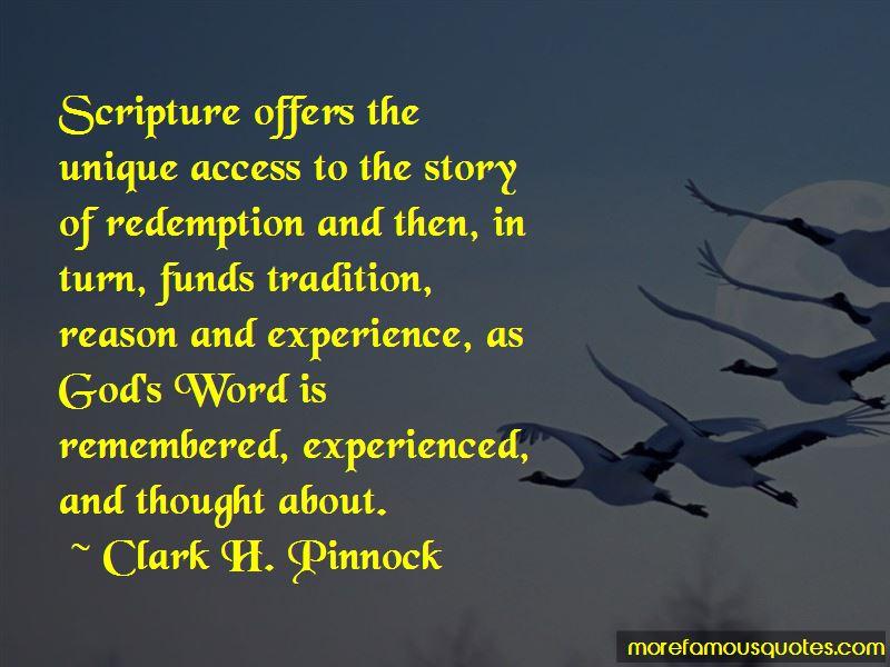 Clark H. Pinnock Quotes Pictures 4