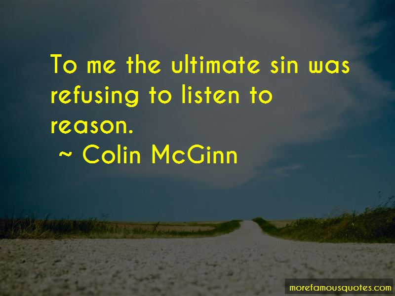 Colin McGinn Quotes Pictures 3
