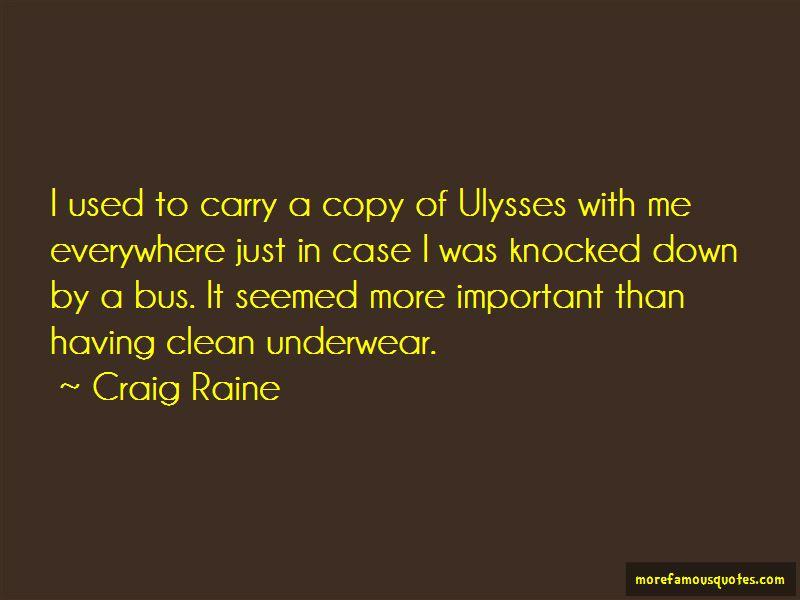 Craig Raine Quotes Pictures 2