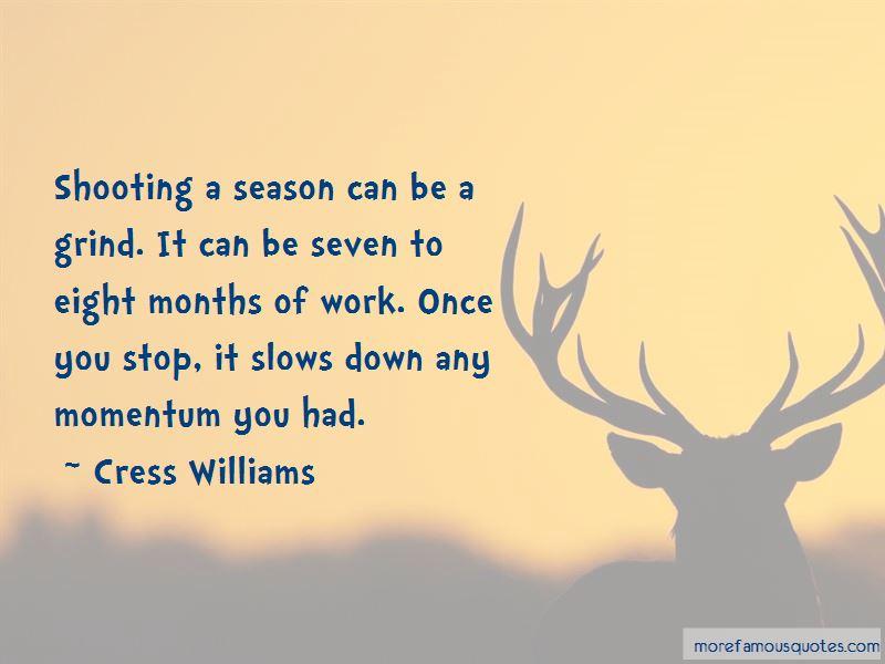 Cress Williams Quotes Pictures 2