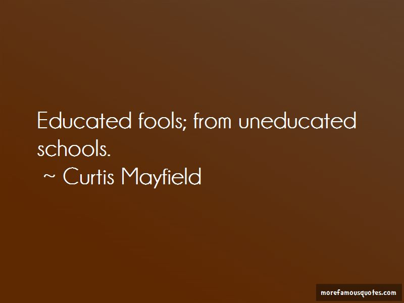 Curtis Mayfield Quotes Pictures 2