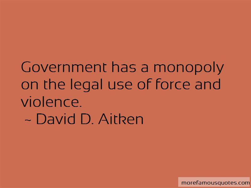 David D. Aitken Quotes