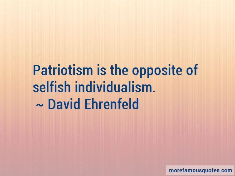 David Ehrenfeld Quotes Pictures 2