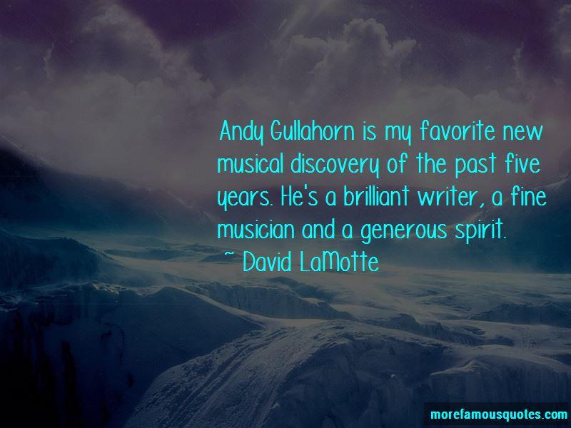 David LaMotte Quotes