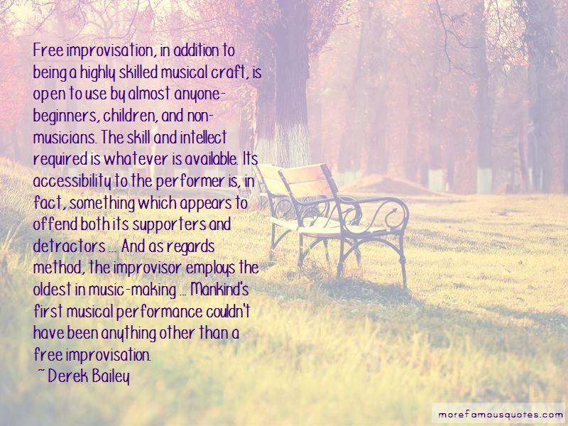 Derek Bailey Quotes