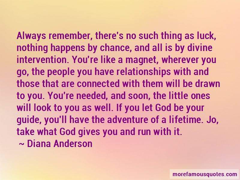 Diana Anderson Quotes