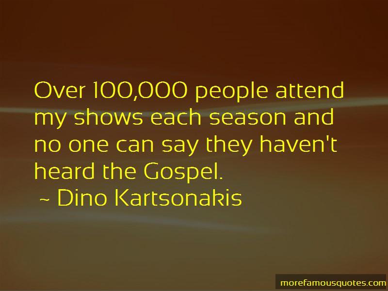 Dino Kartsonakis Quotes