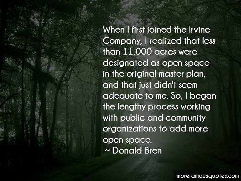 Donald Bren Quotes
