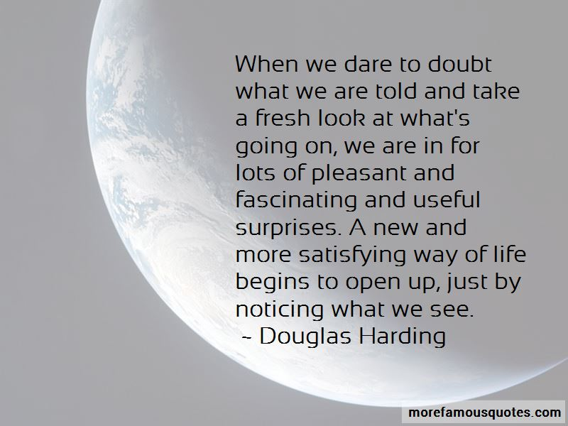 Douglas Harding Quotes Pictures 2