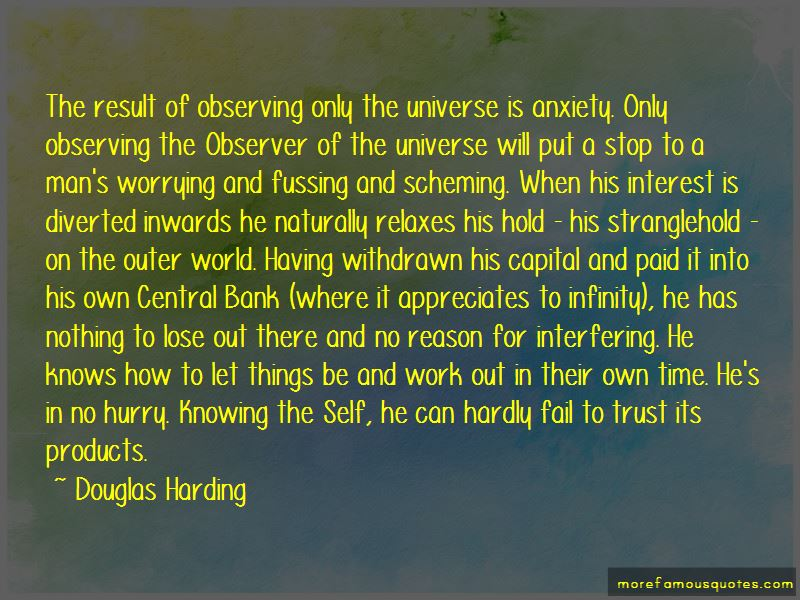Douglas Harding Quotes