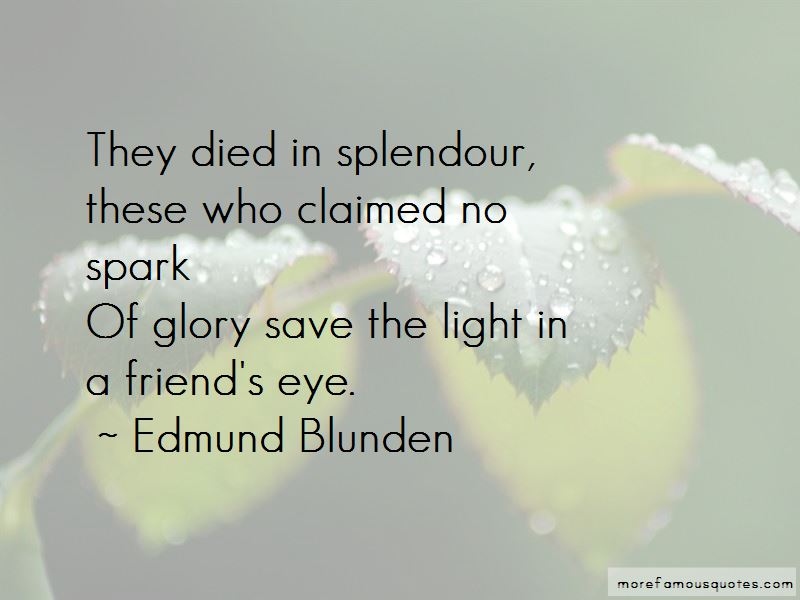 Edmund Blunden Quotes Pictures 4