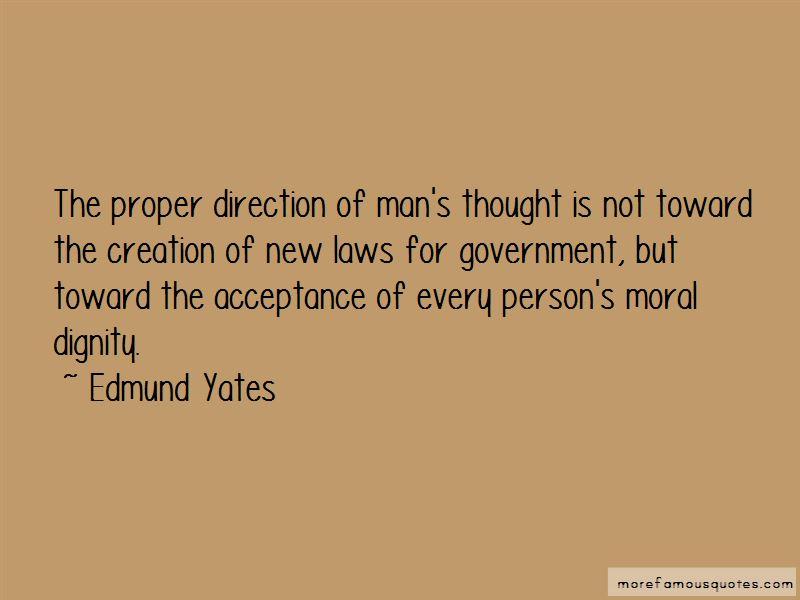 Edmund Yates Quotes