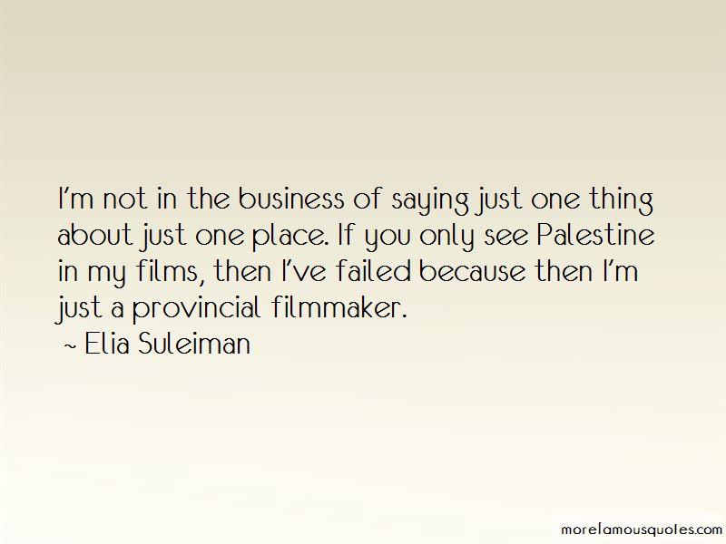 Elia Suleiman Quotes Pictures 2