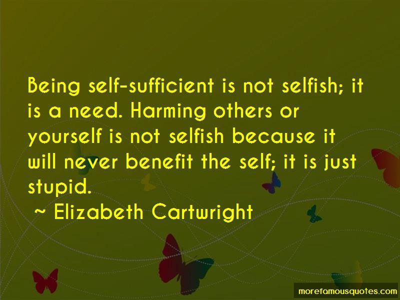 Elizabeth Cartwright Quotes