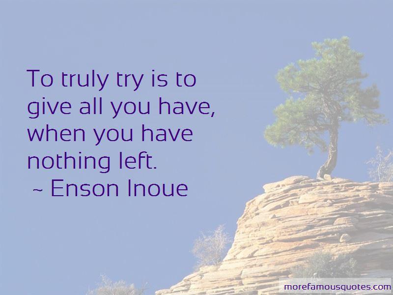 Enson Inoue Quotes Pictures 2