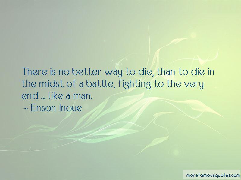 Enson Inoue Quotes