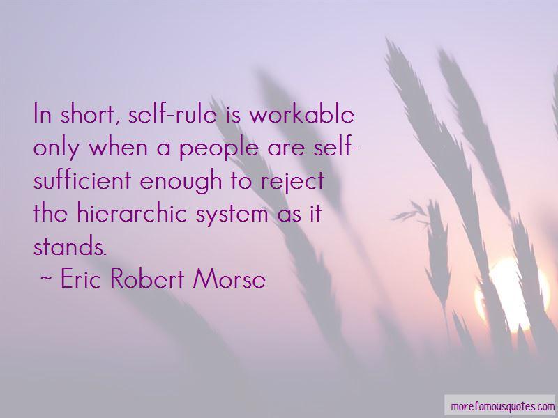 Eric Robert Morse Quotes