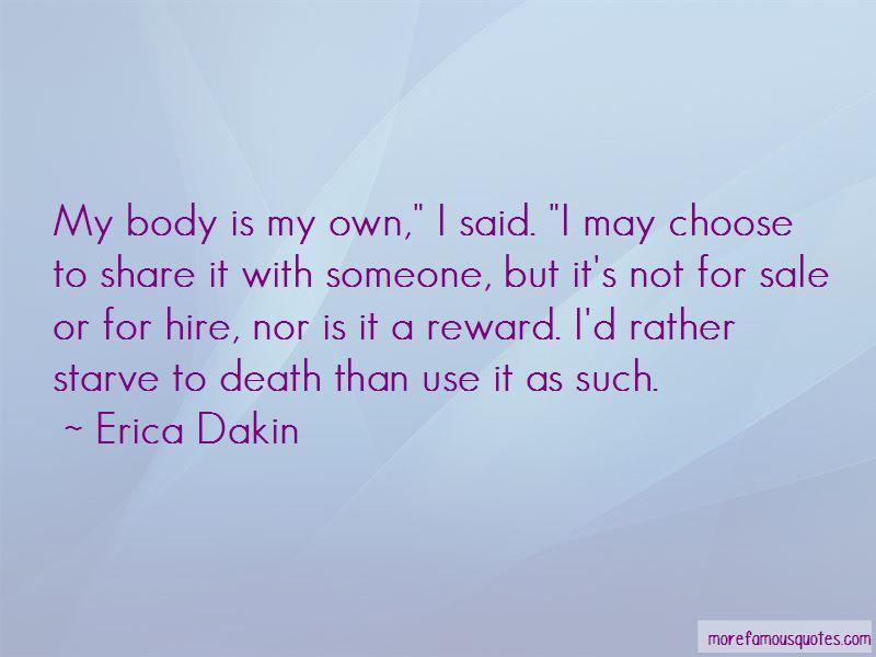 Erica Dakin Quotes Pictures 3