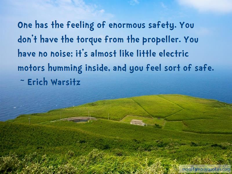 Erich Warsitz Quotes