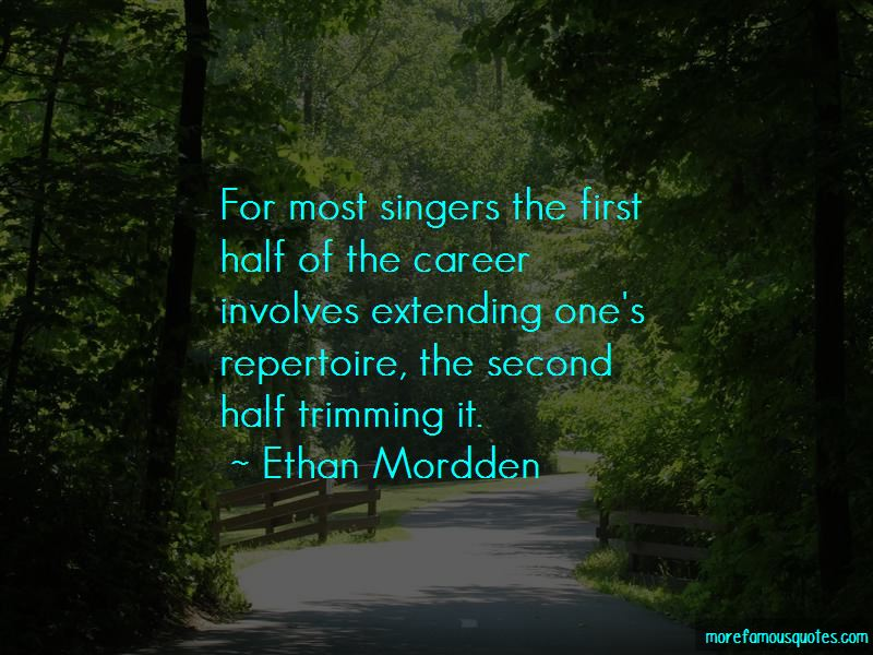 Ethan Mordden Quotes Pictures 3