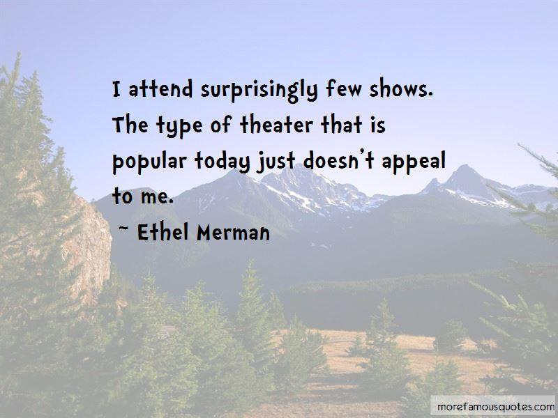 Ethel Merman Quotes Pictures 2
