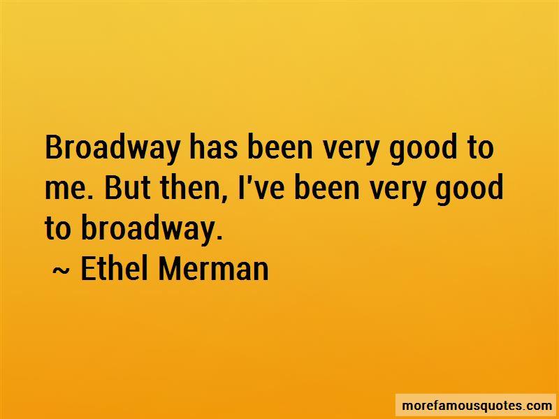 Ethel Merman Quotes Pictures 4