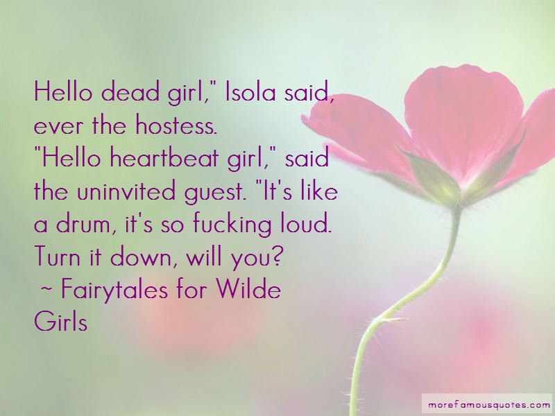 Fairytales For Wilde Girls Quotes
