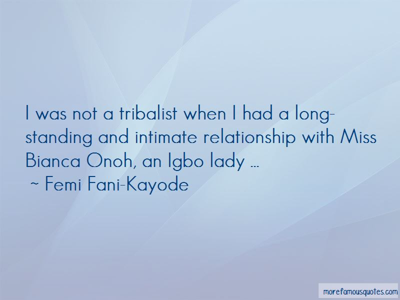 Femi Fani-Kayode Quotes Pictures 2