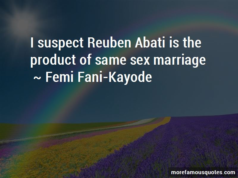 Femi Fani-Kayode Quotes Pictures 3