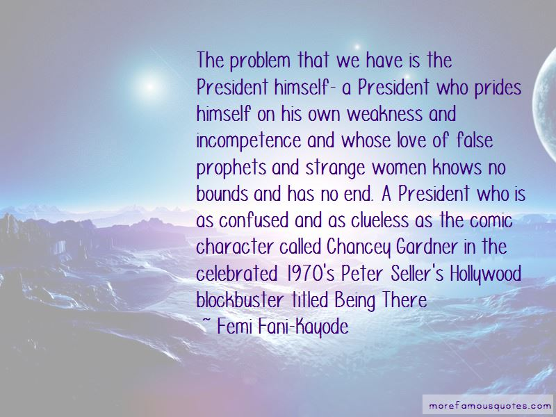 Femi Fani-Kayode Quotes