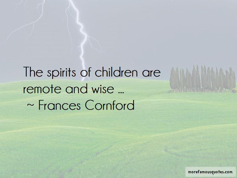 Frances Cornford Quotes Pictures 2