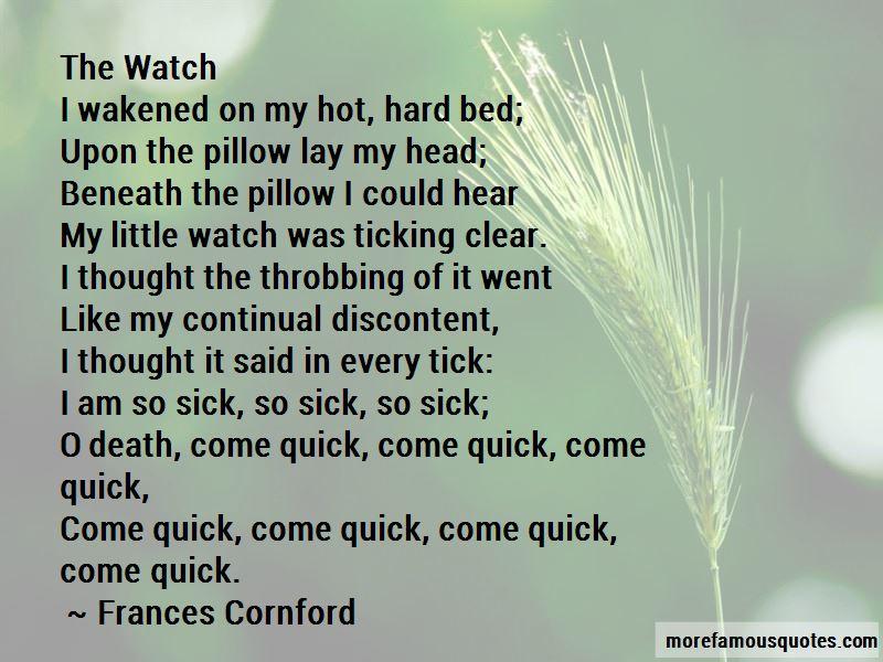 Frances Cornford Quotes