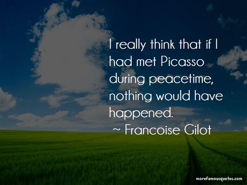 Francoise Gilot Quotes Pictures 2