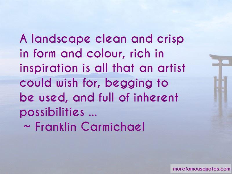 Franklin Carmichael Quotes Pictures 2