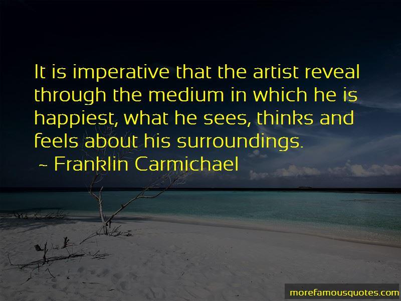Franklin Carmichael Quotes