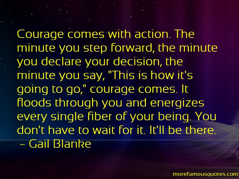 Gail Blanke Quotes
