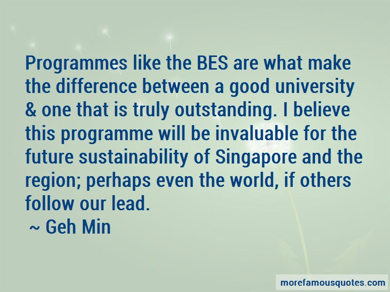 Geh Min Quotes