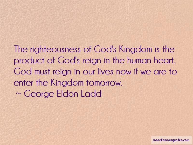 George Eldon Ladd Quotes Pictures 2