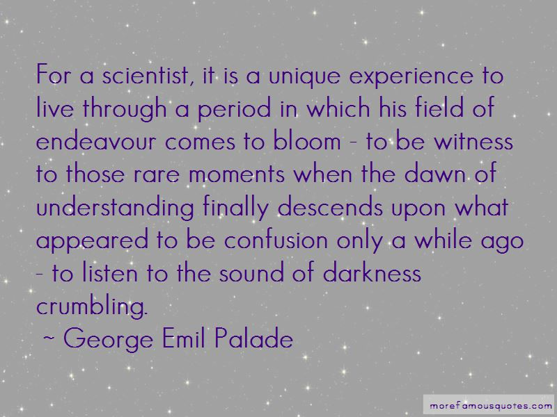 George Emil Palade Quotes Pictures 3