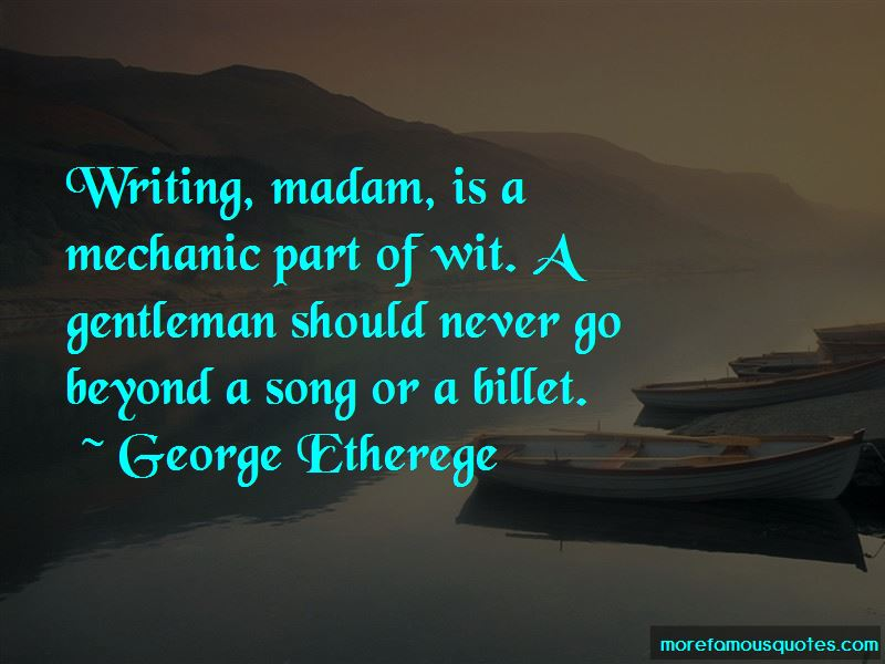 George Etherege Quotes Pictures 4