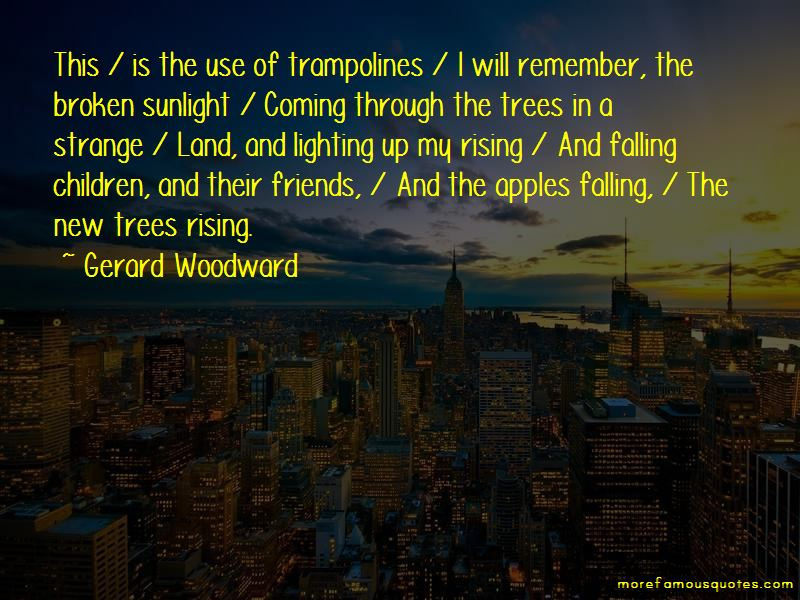 Gerard Woodward Quotes