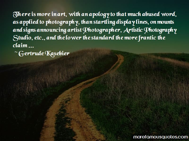 Gertrude Kasebier Quotes Pictures 4