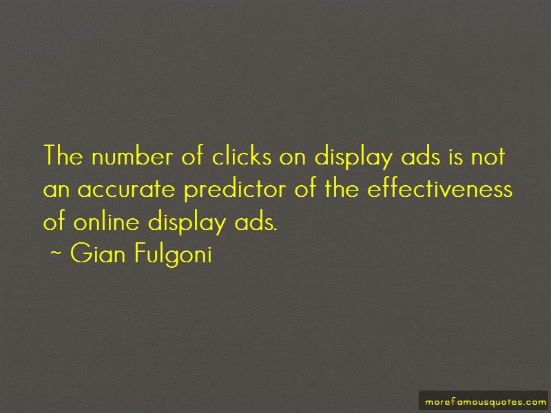 Gian Fulgoni Quotes Pictures 3